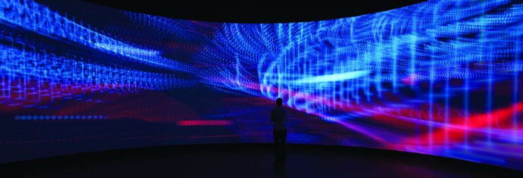 Hybrid Space & The Panoramic Screen, Experimental Media and Performance Art Center, New York, 2008. @IDS
