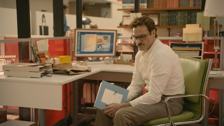 "Joaquin Phoenix in a still from ""Her""."